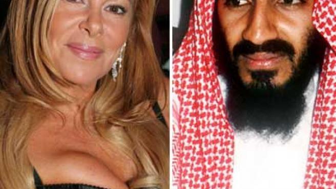 Ana Obregón y Osama Bin Laden