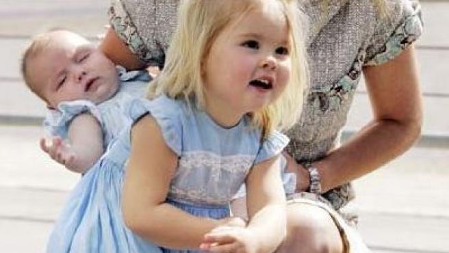 La princesa Amalia, hija de los príncipes herederos de Holanda (REUTERS).
