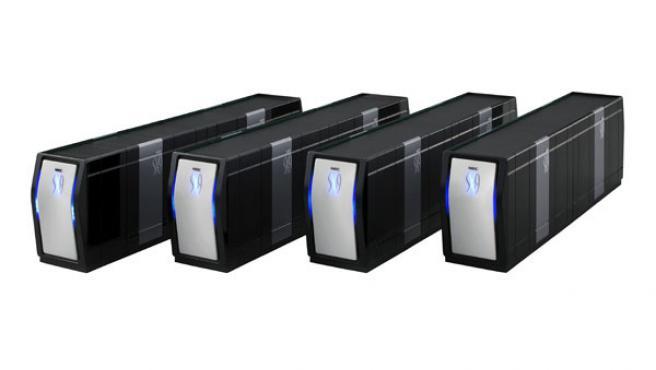 La compañía dice que esta máquina duplica la potencia de BluGene/L, el ordenador más potente del mundo.