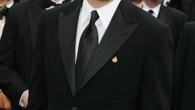 Leonardo DiCaprio, posando ante las cámaras.