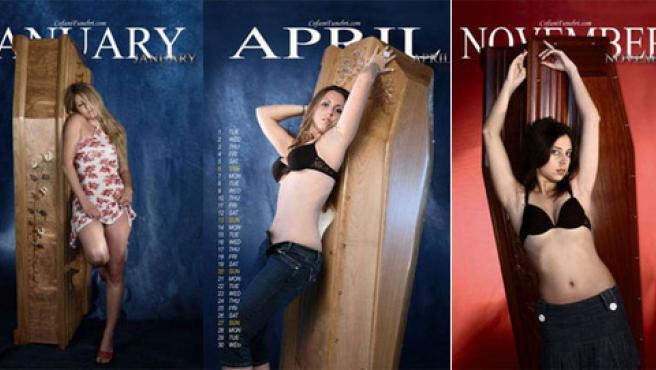 Las chicas de enero, abril y noviembre. (MAURIZIO MATTEUCCI)