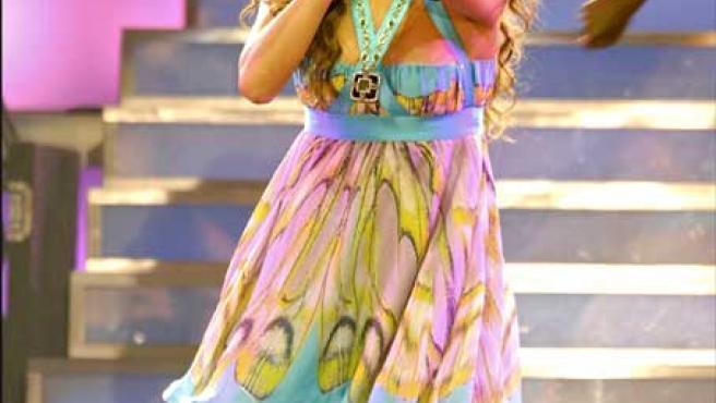 Jennifer López en uno de los conciertos de su actual gira. KORPA