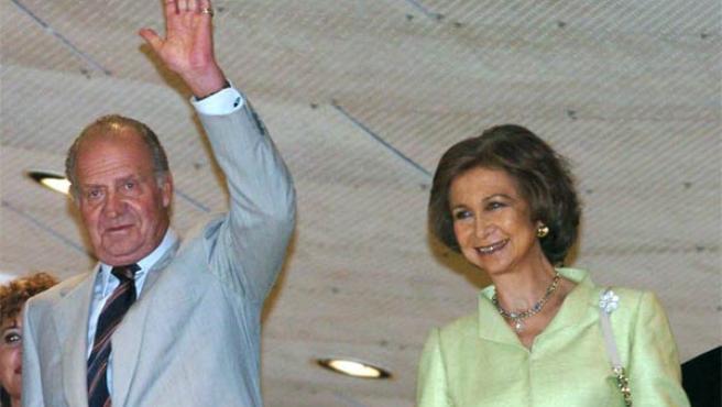 Don Juan Carlos y Doña Sofía, Reyes de España, en una foto de archivo.