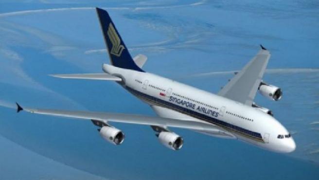 Singapore Airlines recibió el primer A380 a comienzos del mes.