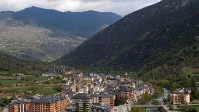 Imagen de la localidad de Sort, en la provincia de Lleida.