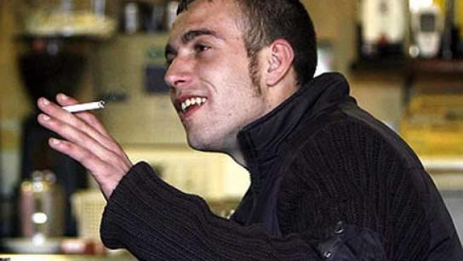 Imagen del agresor en un bar.