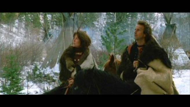 Kevin Costner y Mary McDonnell en la oscarizada producción de 1990.