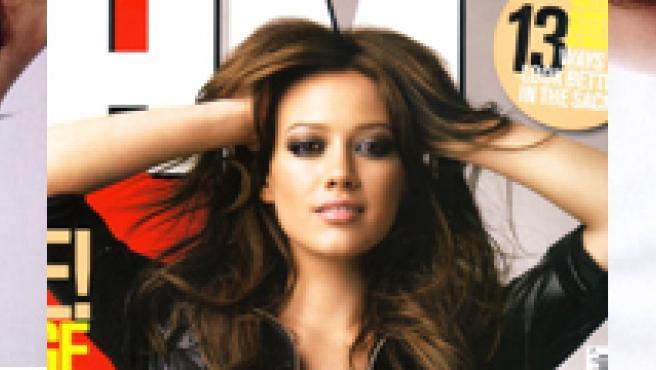 La cantantes posa así de sexy en la revista FHM.