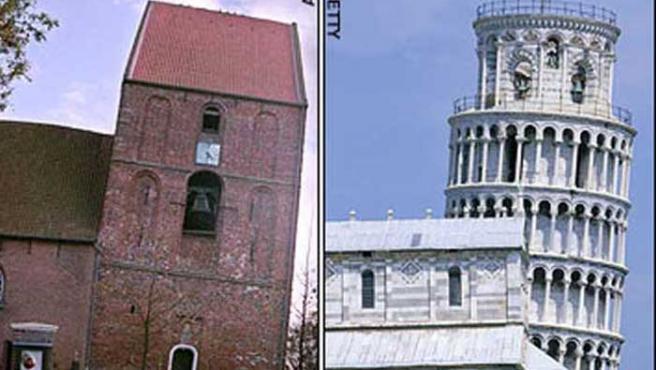 Imagen de los dos edificios.
