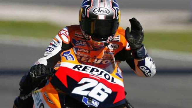 El piloto español Dani Pedrosa (Reuters).