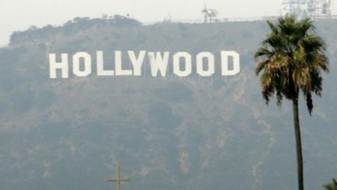 El letrero de Hollywood en Los Ángeles, California.