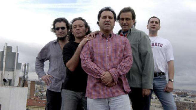 Eduardo, Óscar, Joaquín, Miguel e Iñaki, los integrantes de Grado.Cero.
