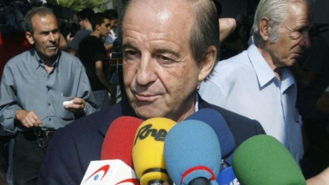 Imagen del popular locutor de radio y periodista, José María García.
