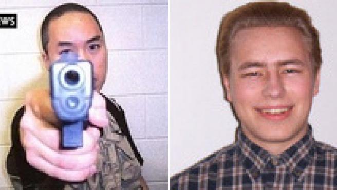 Imágenes de los dos asesinos.