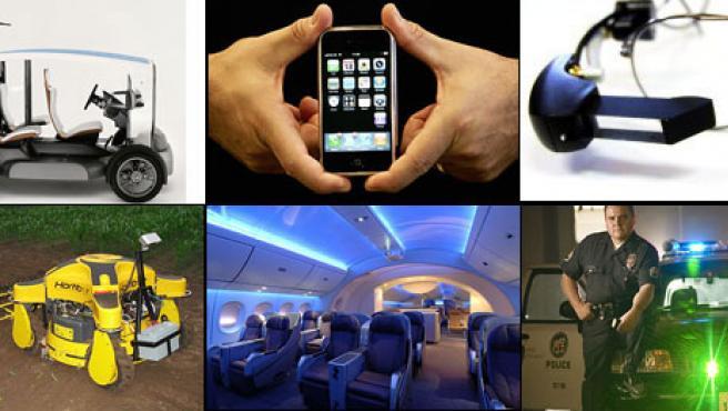 El iPhone es el invento más destacado de 2007, según Time, que también destaca un coche solar, un robot agricultor, unas gafas con subtítulos, un avión de Boing y un dispositivo de seguimiento para policías.