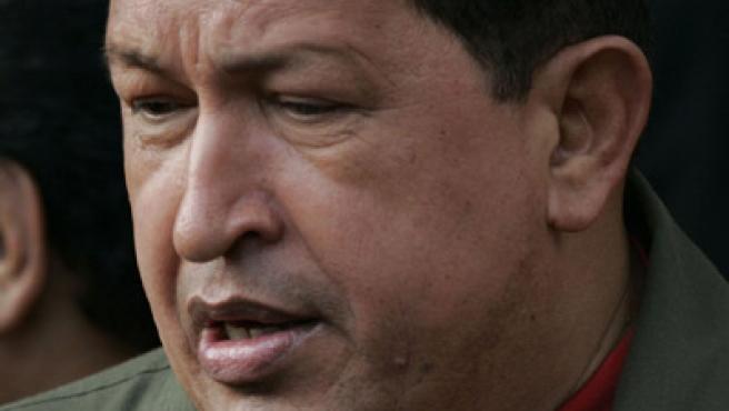 Hugo Chávez, presidente de Venezuela. (Harold Escalona / EFE)