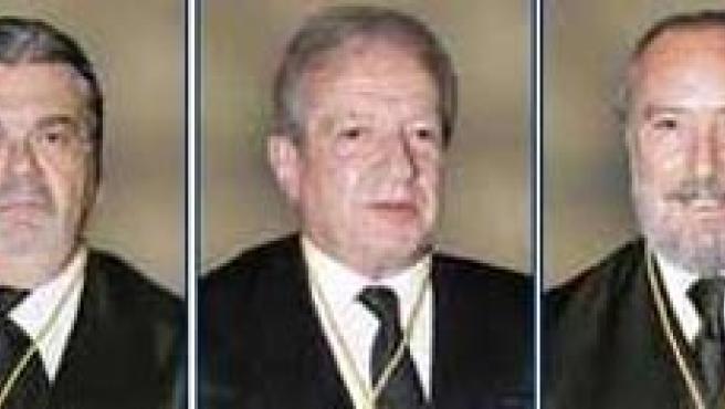 García Calvo y Rodríguez Zapata (recusados por el Gobierno), Sala, Aragón y Pérez Tremps.