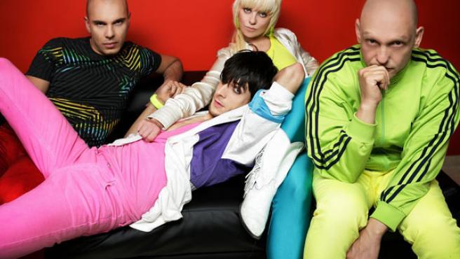 Los miembros de SPAM, en una foto promocional.