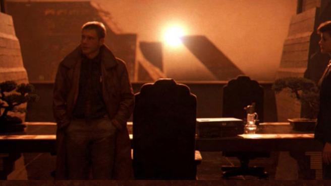 "Un fotograma de ""Blade Runner""."