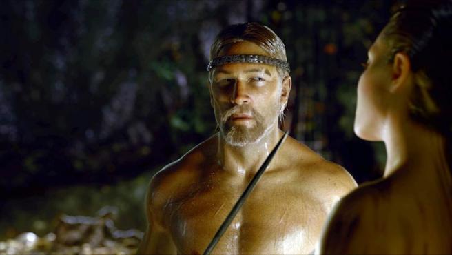 Un fotograma de 'Beowulf'.