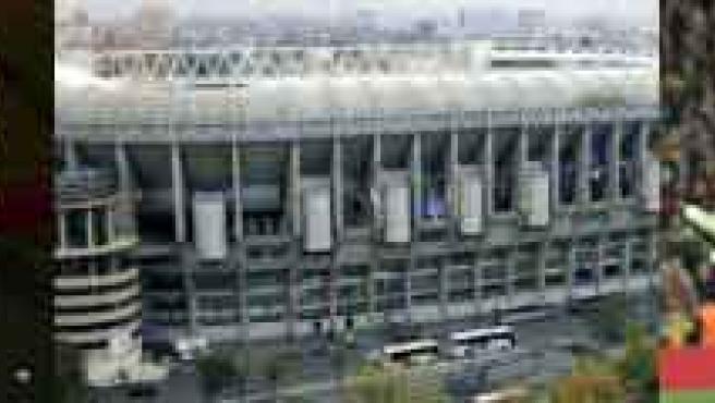 Joseph Blatter, Estadio Santiago Bernabéu y Sergio Ramos.
