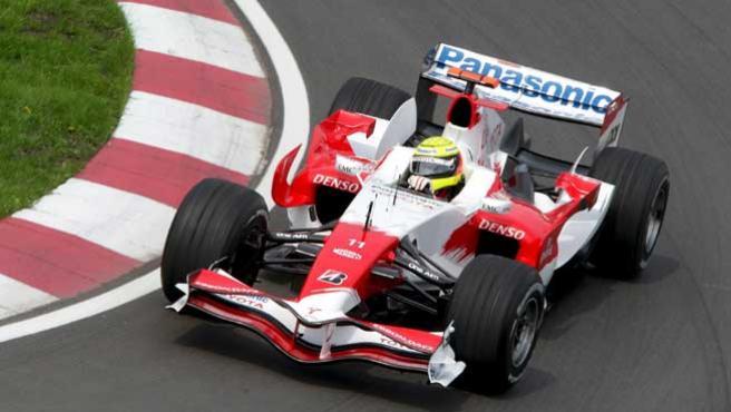 El piloto alemán de Fórmula Uno Ralf Schumacher (Toyota) (Efe).