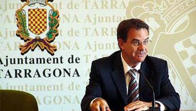 Joan Miquel Nadal, cuando era alcalde de Tarragona.