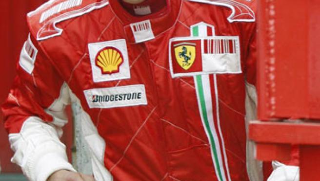Una imagen del piloto alemán Michael Schumacher.