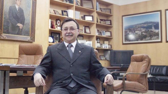 El presidente de la Ciudad, Juan Vivas, en la entrevista con 20minutos.es