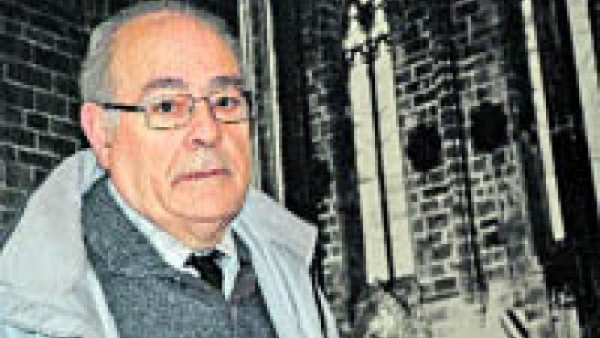 Juan José Gallego, catedrático de Teología, ha practicado 20 exorcismos (BEGOÑA GÓMEZ).