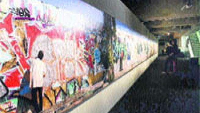 Con la muestra de Santiago Relanzón Berlín 07, la sala LaMetro celebra sus dos años de vida.