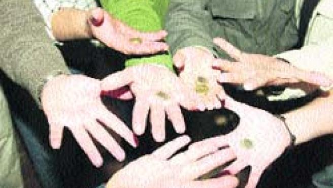 Los chinos es un juego común entre los peñistas cordobeses. (P. C)