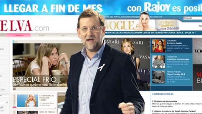 """""""Llegar a fin de mes con Rajoy es posible"""" (MONTAJE: 20MINUTOS.ES)"""