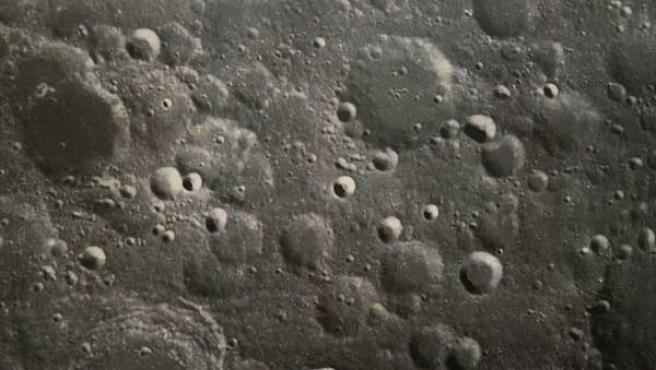 Pekín publicó en noviembre de 2007 la primer instantánea de la luna captada por la sonda 'Chang E I'.