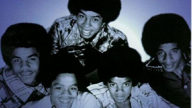 Los componentes de Jackson Five, con Michael en primer plano.