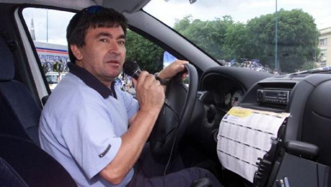 El ex ciclista profesional y director de equipo Vicente Belda.