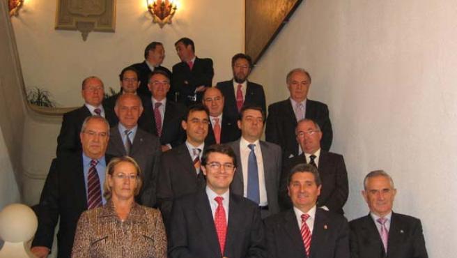 Reunión de los representantes de las Diputaciones Provinciales de Castilla y León en Soria