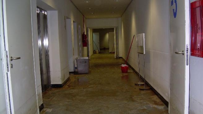 El Palau de les Arts, inundado.