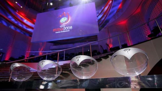 Sorteo de la Eurocopa 2008.