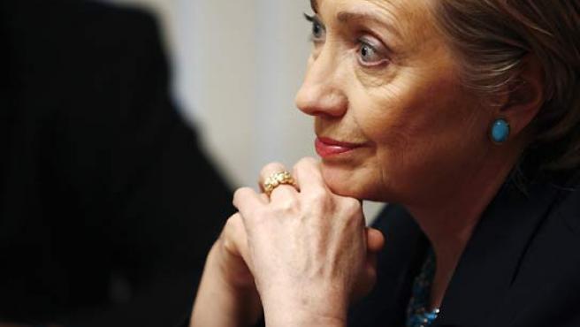 Hillary Clinton, la semana pasada en New Hampshire. (Brian Snyder / Reuters).