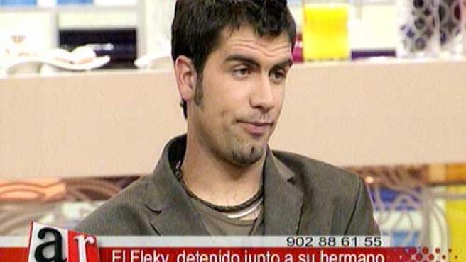 Diversas escenas del paso de 'El Fleky' por el Programa de Ana Rosa.