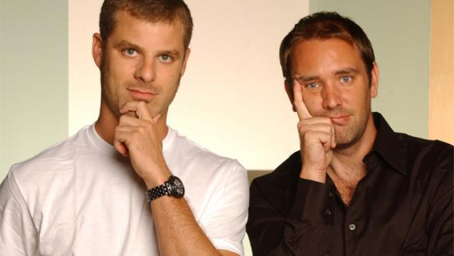 Trey Parker y Matt Stone, los creadores de 'South Park'