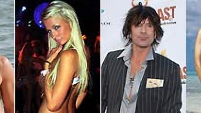 Jessica Biel, Matthew McConaughey, Paris Hilton, Tommy Lee, Jessica Alba y Vince Vaughn, entre los famosos más 'limpios' y 'sucios'.