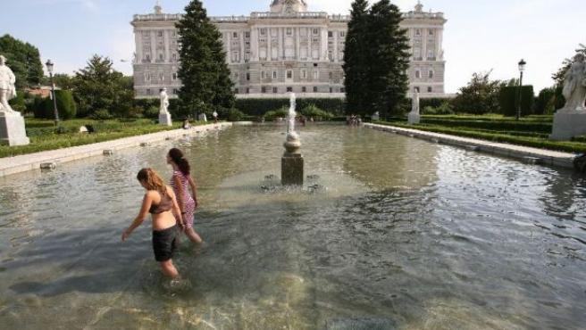 El Palacio Real, en una imagen de archivo.