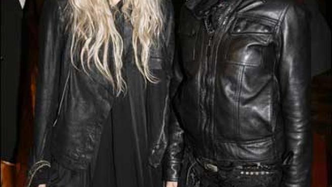 Mary-Kate y Ashley Olsen en la semana de la moda de París.