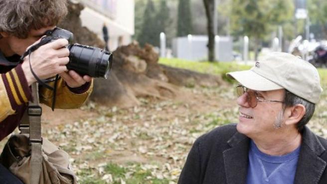 El cantautor cubano Silvio Rodríguez posa en Barcelona, en una imagen de archivo.