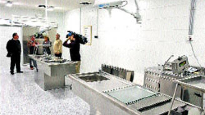 Las nuevas instalaciones de Medicina Legal en la Ciudad de la Justicia, que abrirán este enero. (Martín Mesa)
