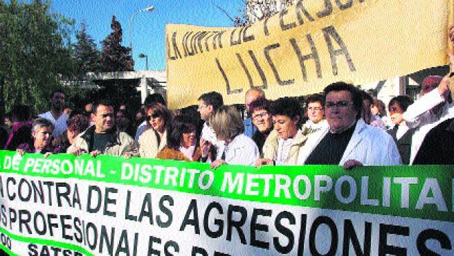 La junta de personal del Hospital Virgen de las Nieves. (Torres)