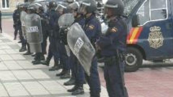Al final, no fue necesaria la intervención de la fuerza pública.