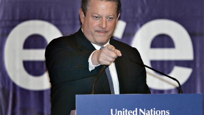 Al Gore, durante una intervención en Bali (Foto: AP)